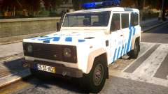 Land Rover Defender Police V2 for GTA 4
