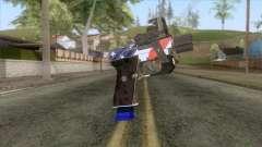 The Doomsday Heist - Pistol v2 for GTA San Andreas