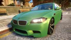 BMW M5-series F10 Azerbaijan style for GTA 4