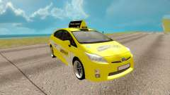 Toyota Prius yellow for GTA San Andreas