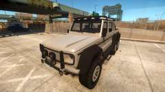 Benefactor Dubsta 6x6 for GTA 4