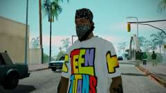 Teen Titans T-Shirt for GTA San Andreas