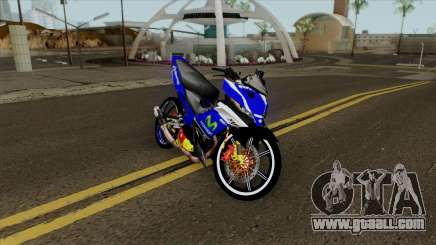 Yamaha 135LC V4 Movistar Singel Arm Pojet By Can for GTA San Andreas