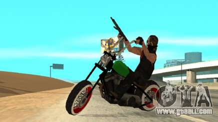 Freeway MFR Biker Gang Tuning Concept 180KmH for GTA San Andreas