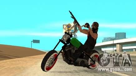 Freeway MFR Biker Gang Tuning Concept 180KmH for GTA San Andreas