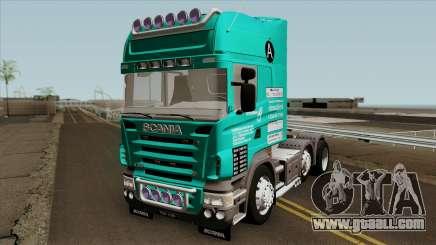 Scania R620 Petrorimau for GTA San Andreas
