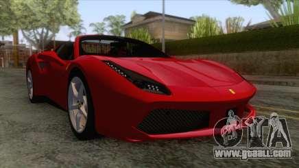 Ferrari 488 Spider for GTA San Andreas