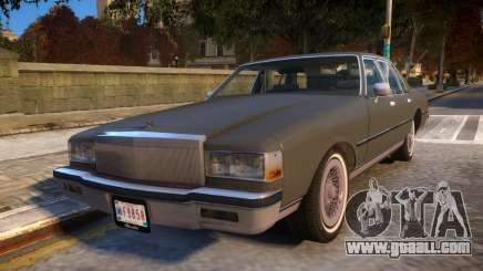1985 Chevrolet Caprice Classic for GTA 4
