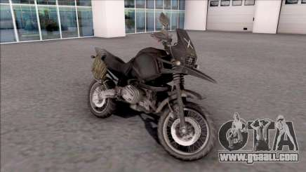Motorcycle from the game PUBG for GTA San Andreas