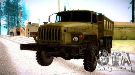 Ural 4320 Oliva for GTA San Andreas