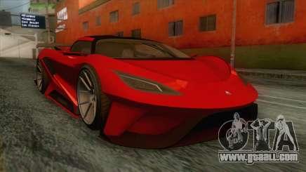 GTA 5 - Overflod Tyrant IVF for GTA San Andreas