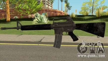 PUBG M16 for GTA San Andreas