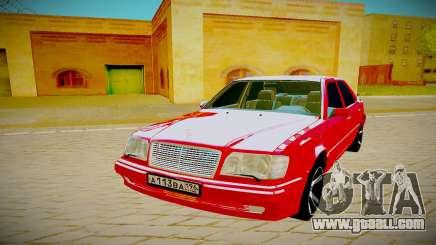 Mercedes Benz W124 E500 AMG for GTA San Andreas