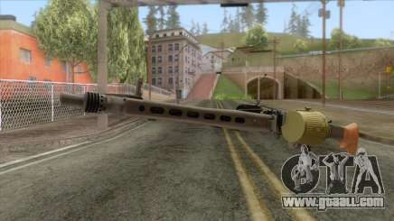 MG-42 Machine Gun v3 for GTA San Andreas