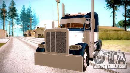 Peterbilt 389 blue for GTA San Andreas