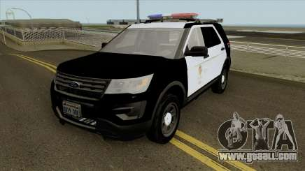 Ford Police Interceptor Utility LSPD 2016 for GTA San Andreas