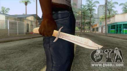 Dead Rising 2 - Bowie Knife for GTA San Andreas