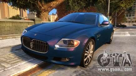 Maserati Quattroporte Sport GTS 2011 Baku Style for GTA 4