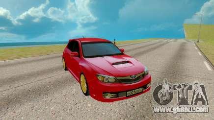 Subaru WRX STI for GTA San Andreas