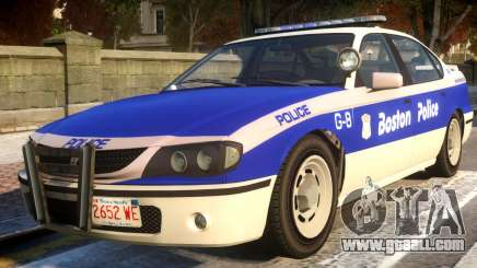 Declasse Merit Boston Police Department for GTA 4
