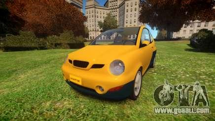 1997 Daewoo Matiz for GTA 4