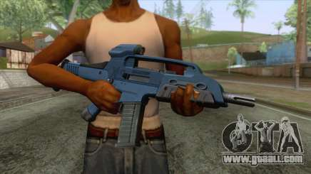 XM8 Compact Rifle Blue for GTA San Andreas