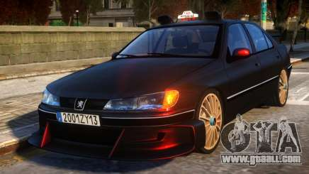 Peugeot 406 Taxi 2 Final for GTA 4