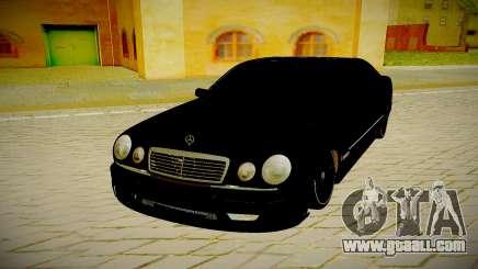 Mercedes Benz E420 W210 for GTA San Andreas