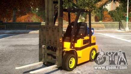Two Seater Forklift BETA for GTA 4