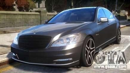 Mercedes-Benz w221 S7.0 v1.0 for GTA 4