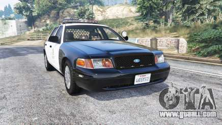 Ford Crown Victoria LAPD CVPI v3.0 [replace] for GTA 5
