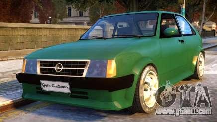 Opel Kadett D GTE for GTA 4