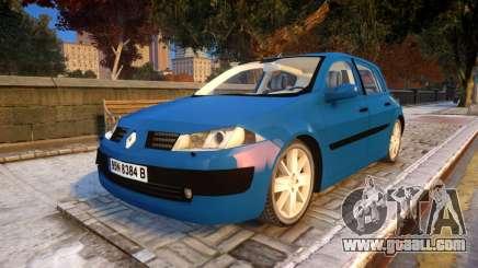 Renault Megane 2 for GTA 4