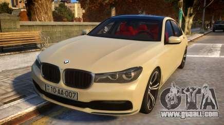 2016 BMW 7-series G12 Long for GTA 4