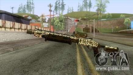 The Doomsday Heist - Shotgun v1 for GTA San Andreas