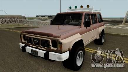 Nissan Safari Y60 1987 for GTA San Andreas