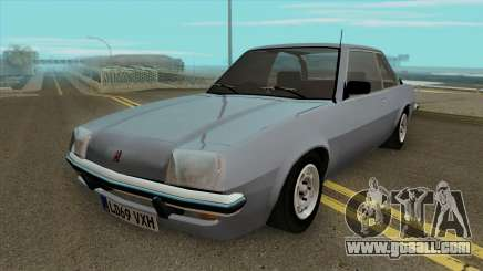Vauxhall Cavalier MK1 Sedan 2 Door for GTA San Andreas