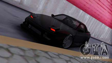 Nissan 180sx black for GTA San Andreas