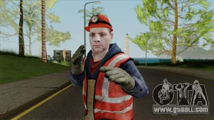New skin working for GTA San Andreas