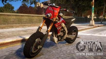 Kawasaki KX 450 F for GTA 4