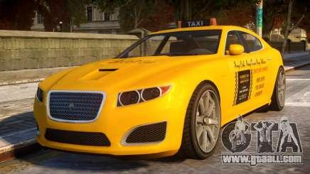 Lampadati Felon Taxi for GTA 4