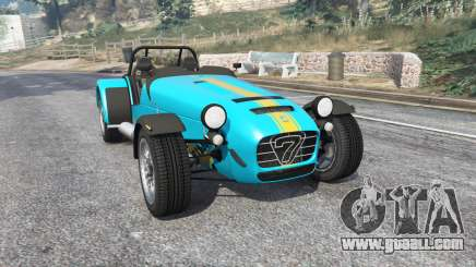 Caterham Seven 620 R 2013 v1.6 [replace] for GTA 5