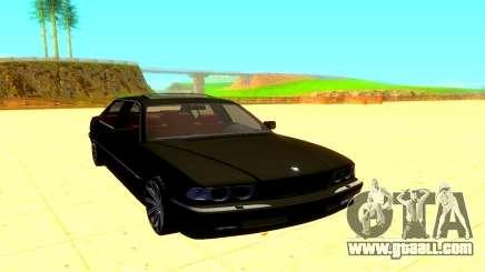 BMW E38 760L for GTA San Andreas