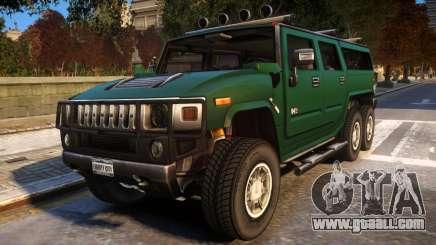 2008 Hummer H6 for GTA 4