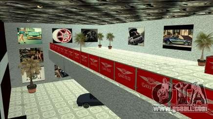 The dealership QMGS V2 for GTA San Andreas