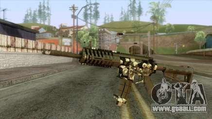 P416 Assault Rifle for GTA San Andreas