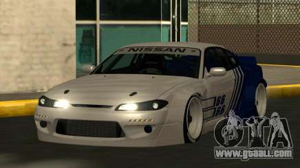 Nissan Silvia S15 RocketBunny for GTA San Andreas
