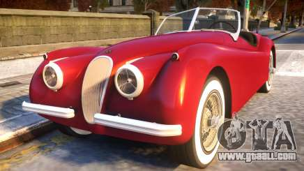 1954 Jaguar XK120 SE Roadster for GTA 4