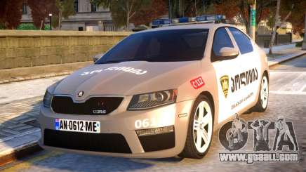 Skoda Octavia RS GEO POLICE for GTA 4