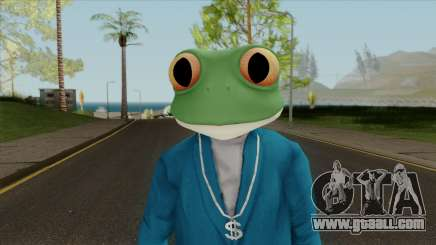 Toad Frog Mask From The Sims 3 for GTA San Andreas
